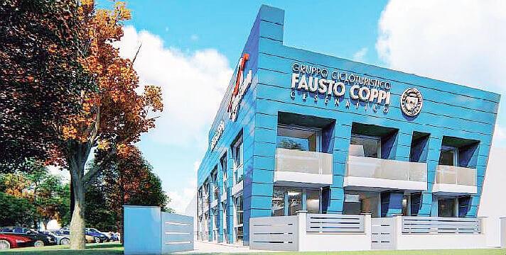 La Fausto Coppi di Cesenatico sta costruendo una nuova sede avveniristica