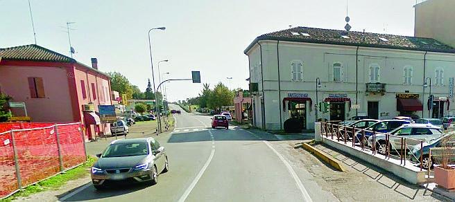 Una rotonda al posto del semaforo, partiti i lavori ad Alfonsine