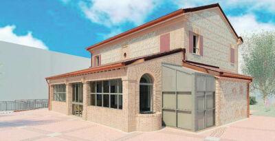 La casa colonica dell'ospedale di Santarcangelo ospiterà servizi per i bambini