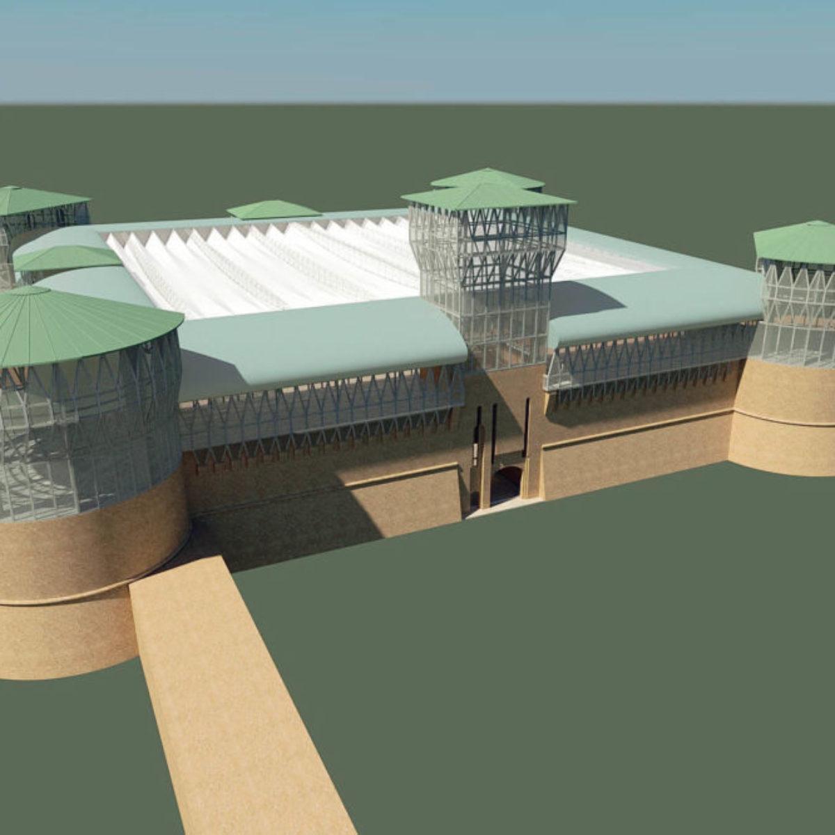 Tetto In Lamiera Opinioni 8 milioni per la nuova rocca di ravenna, arena dal tetto
