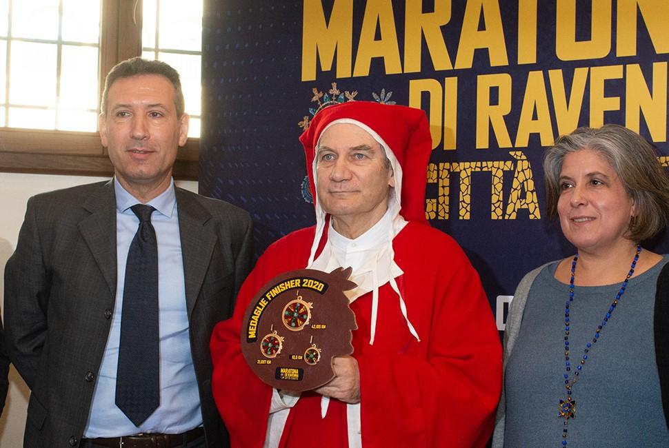 Podismo, l'omaggio a Dante alla Maratona Ravenna Città d'Arte