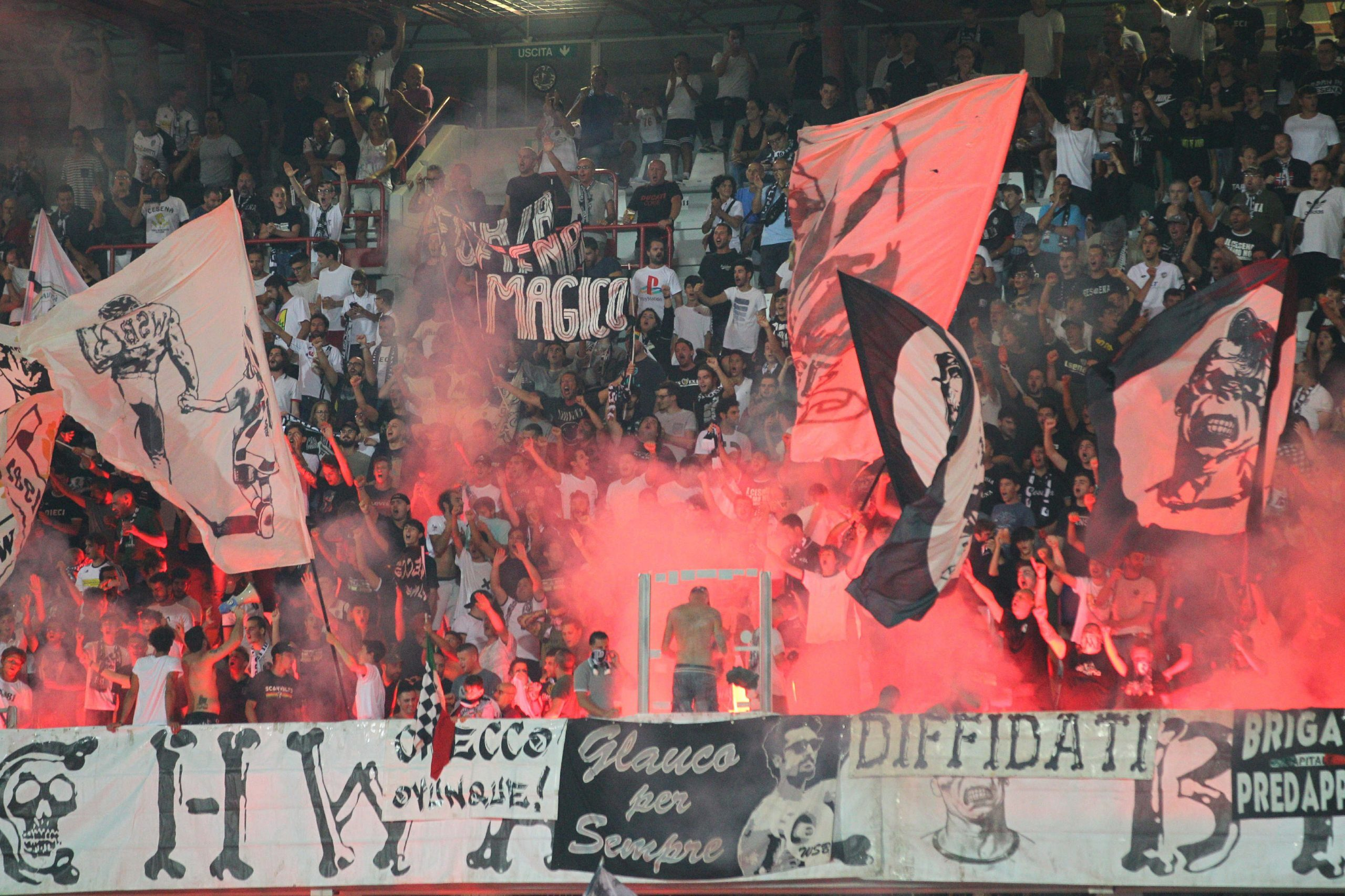 Calcio C, subito esaurito il settore ospiti di Vis Pesaro-Cesena