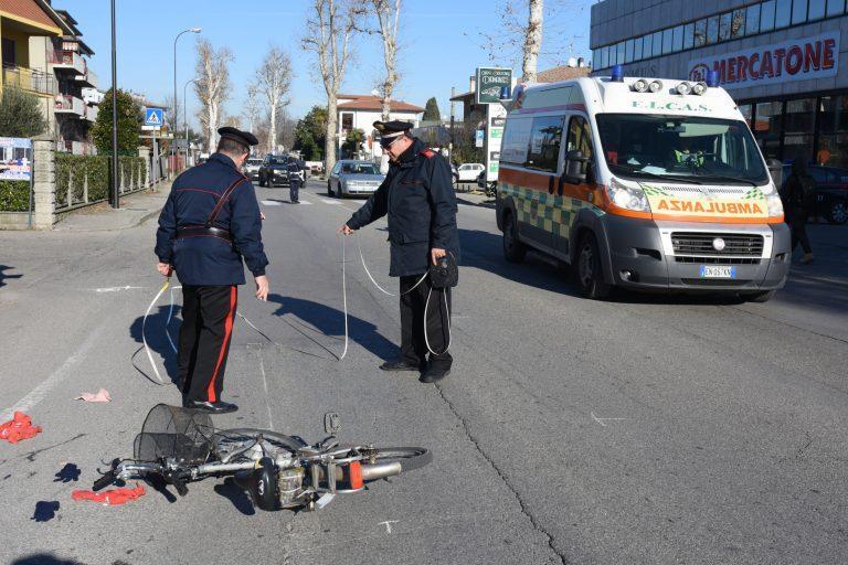 Travolta da un furgone a Meldola, grave una donna di 85 anni