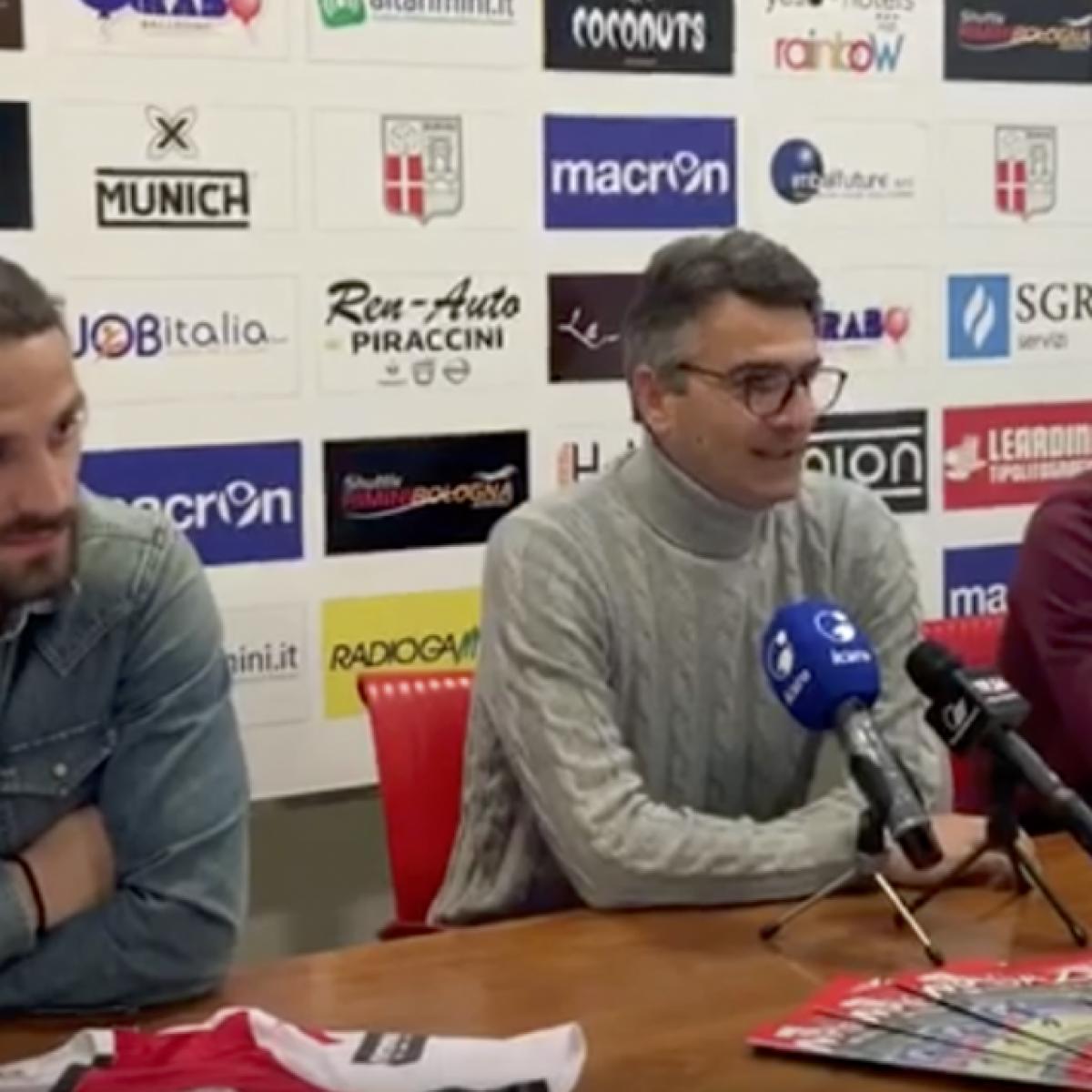 Rimini Calcio, Ambrosini e Remedi si presentano