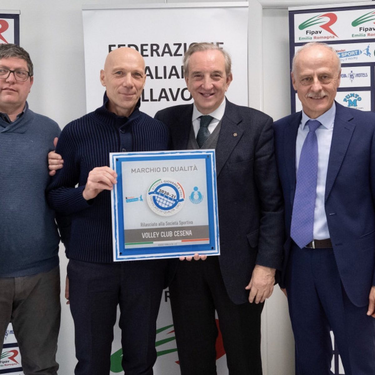"""Volley Club Cesena certificato """"Qualità Oro"""""""