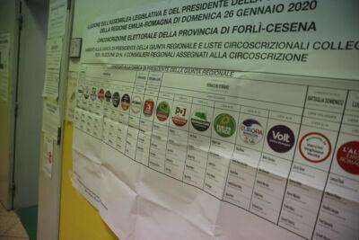 Regionali 2020: le affluenze a Cesena e nel comprensorio - ORE 23