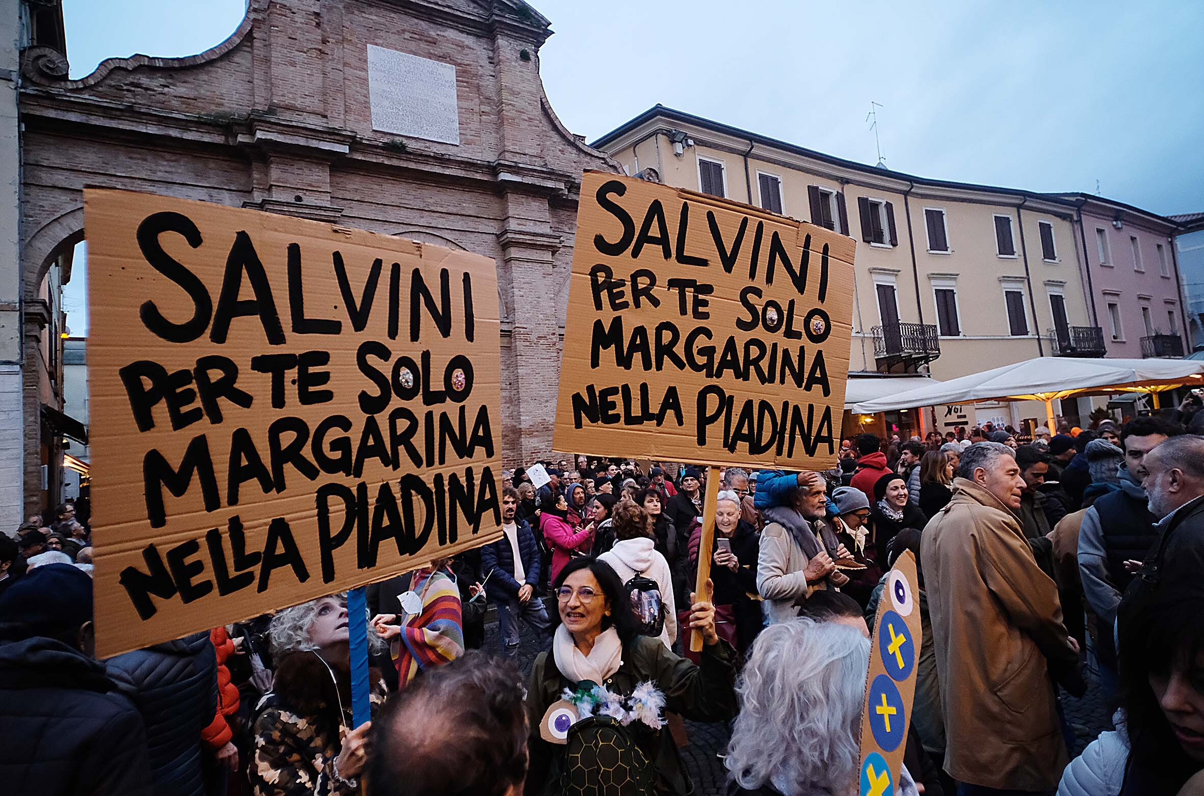 Domani Bonaccini vs Salvini a Rimini e Sardine vs Salvini a Verucchio