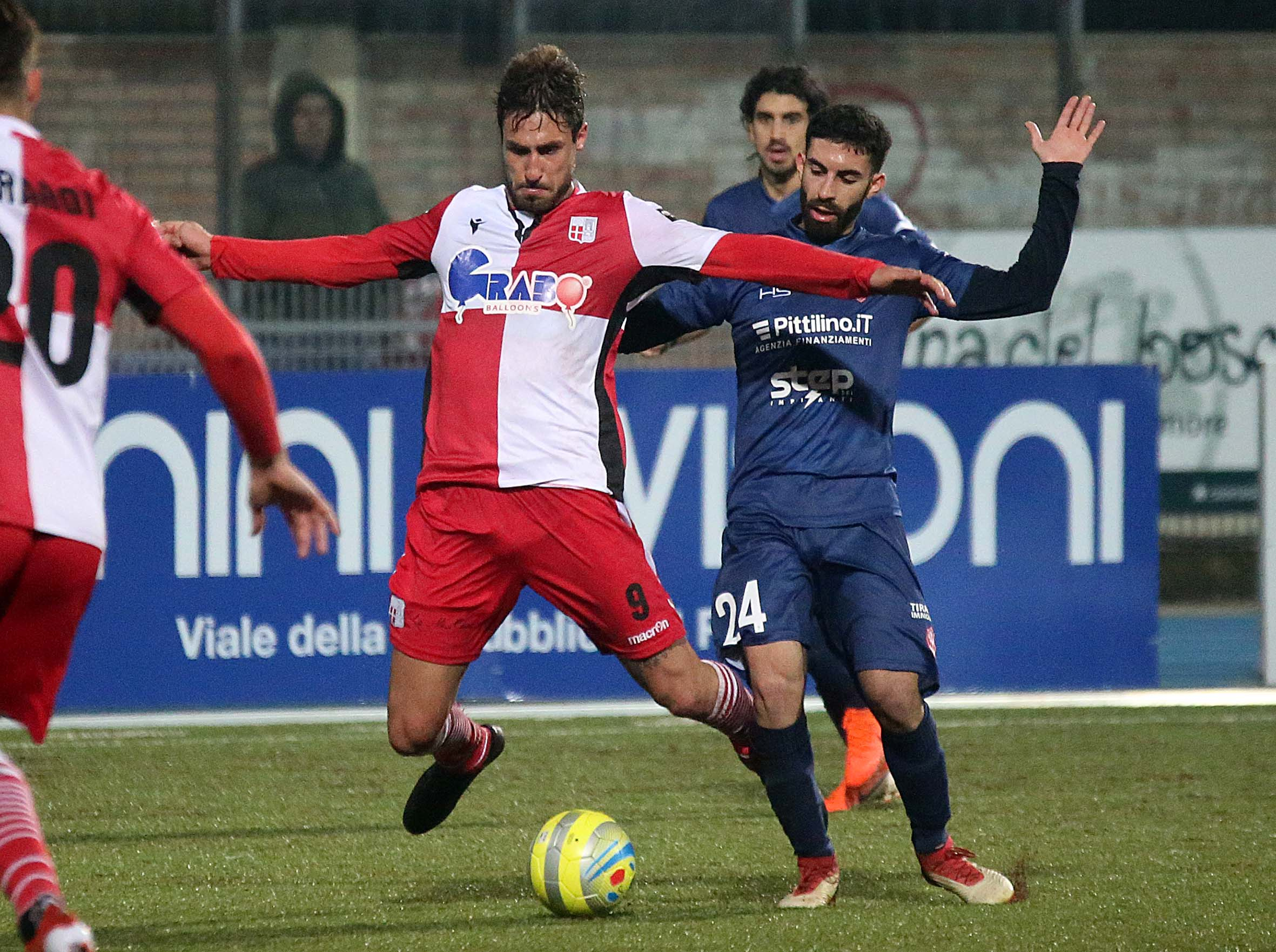 Calcio, il Rimini saluta Zamparo e Cozzari