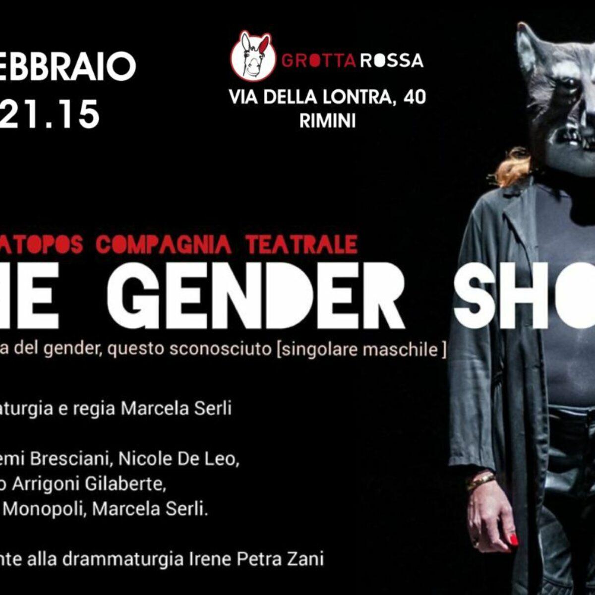 """""""The gender show"""". Si può fare arte   con la propria identità?"""