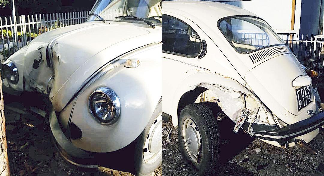 """Cattolica, """"distrutta"""" auto in sosta"""