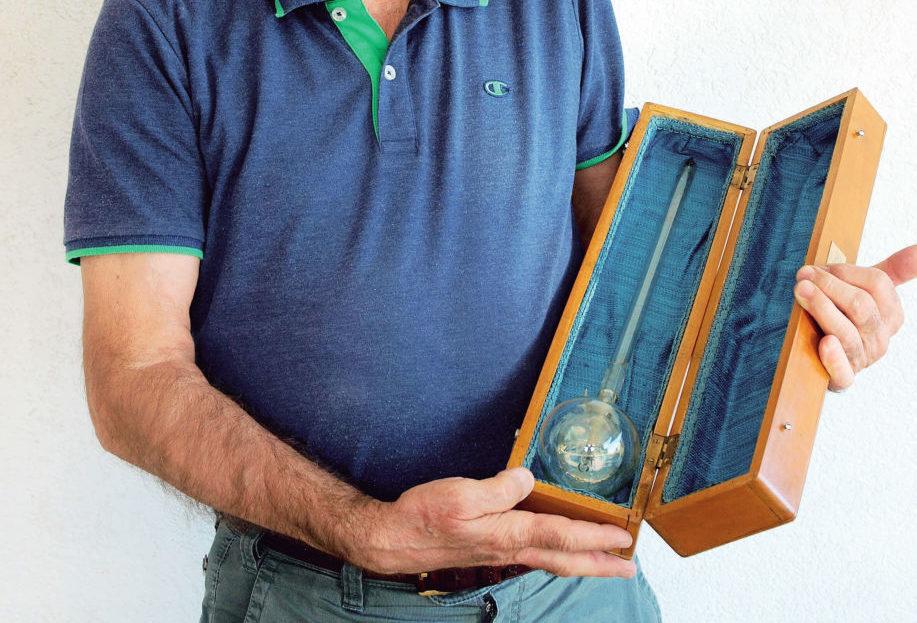 A Faenza il termometro utilizzato per inventare il barometro