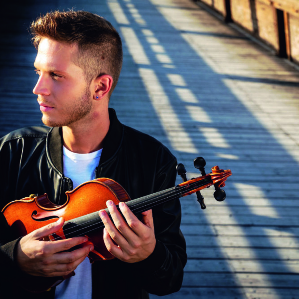 Mecozzi: «Passo San Valentino con la mia morosa di sempre: la musica»
