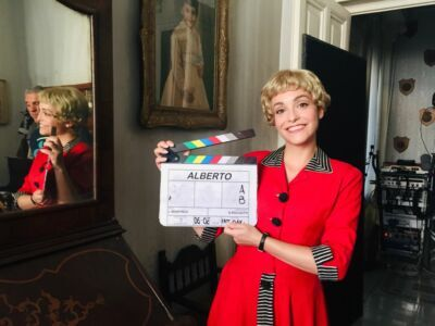 Martina Galletta è il volto di Giulietta Masina al cinema e alla televisione