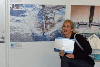 Fotografia, sul mare alla ricerca di libertà e avventura: Martina Orsini al Club Nautico Rimini