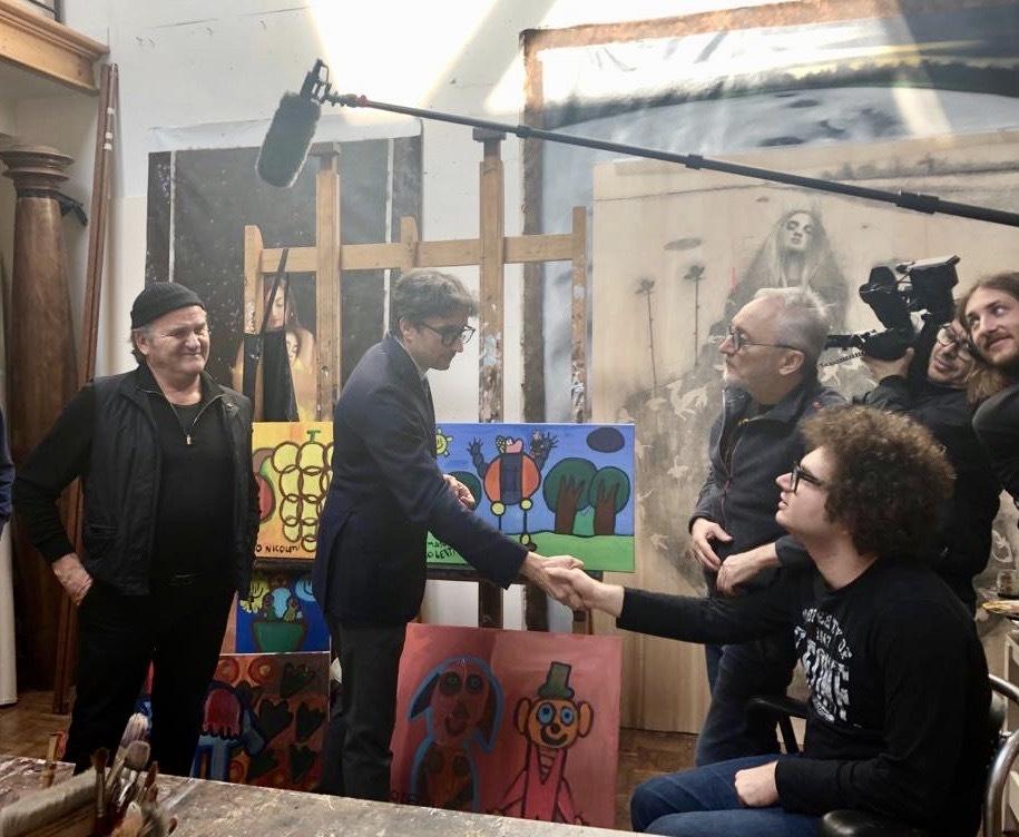 Partono le riprese del nuovo docufilm sull'autismo di Gianluca Nicoletti e suo figlio Tommy