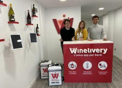 Rimini, con Winelivery il vino a casa in pochi minuti