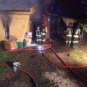 Coriano. Camino lasciato acceso: una casa va a fuoco. VIDEO