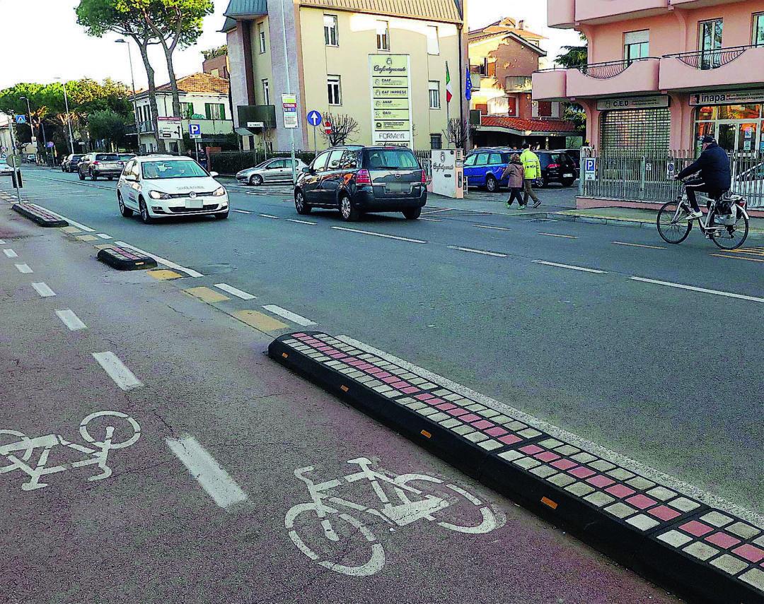 Rimini, multe ai ciclisti: ecco tutti i casi