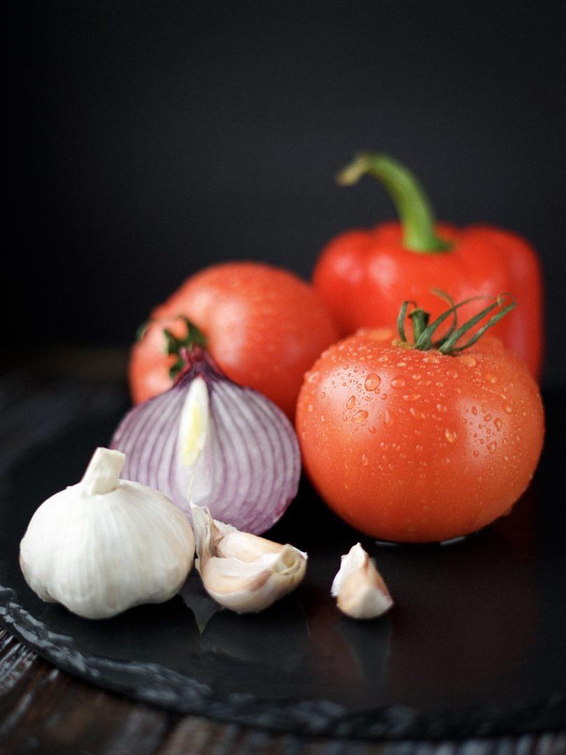 Menù a base di verdure preparate dallo chef stellato Daniele Baruzzi