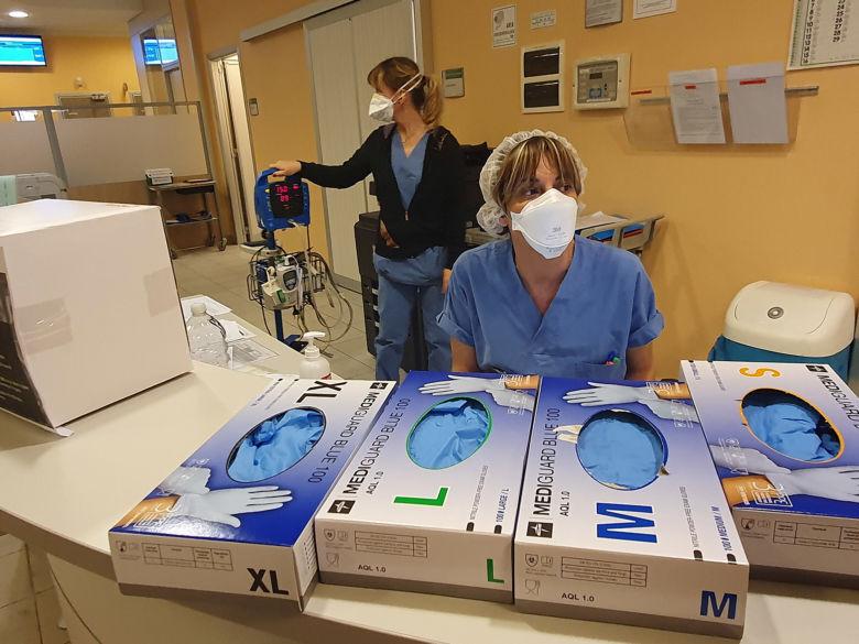 Coronavirus, 6 milioni di mascherine per l'Ausl Romagna