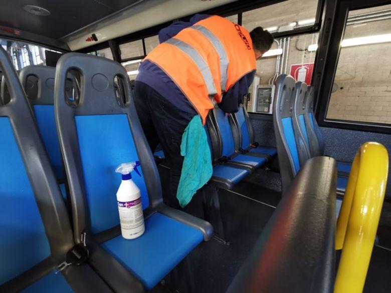 Coronavirus. Sanificazione straordinaria sui bus di Start. Gel alle biglietterie