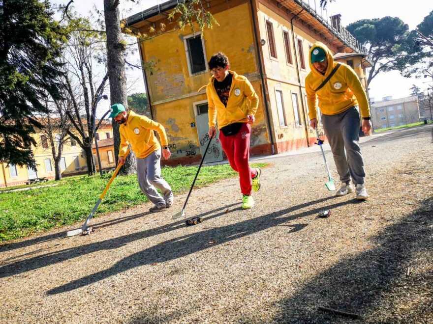Imola, il parco dell'Osservanza diventa palestra  per l'originale Mini 4WD Sport