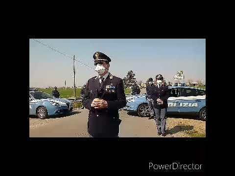 Medicina zona rossa, ai varchi controllati dalla Polizia di stato VIDEO