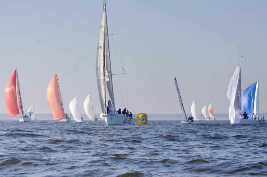 Ravenna, i vincitori del Campionato d'inverno di vela