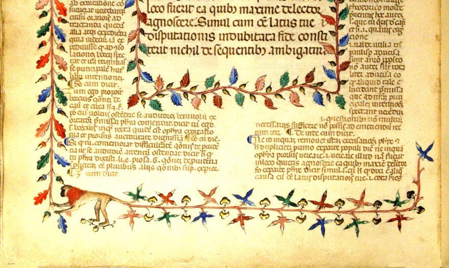 Malatestiana di Cesena: online i codici antichi