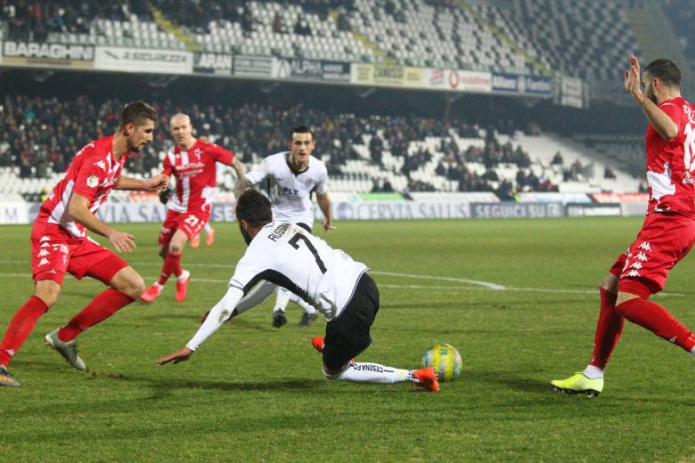 Il Cesena regola 4-1 la Sammaurese
