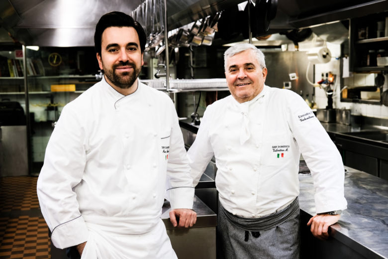 I 50 anni del San Domenico di Imola, intervista doppia agli chef Marcattilii e Mascia