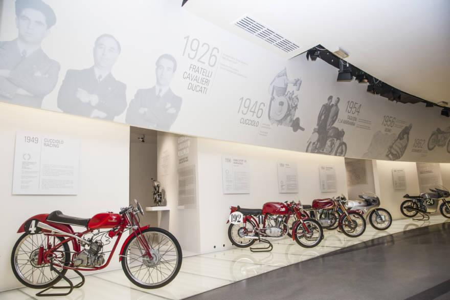 Ducati, Barilla e Unipol, musei aperti online