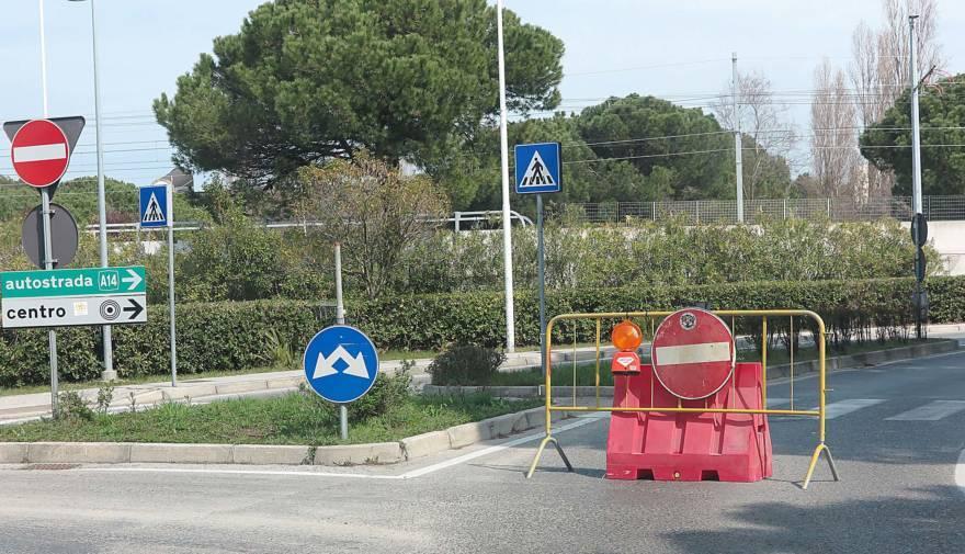 Coronavirus, a Riccione chiuse altre strade secondarie