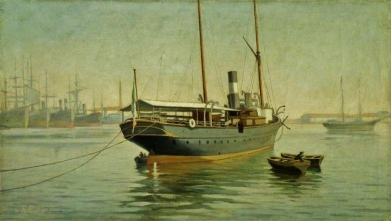 Calmo, tempestoso mare: l'arte tra porti,  navi e velieri