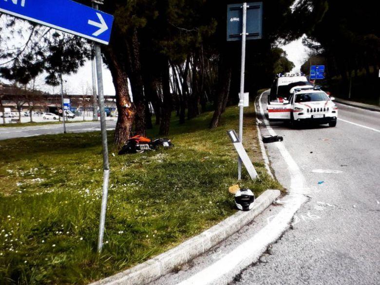 Incidente auto-moto a San Marino, è morto l'uomo di 45 anni