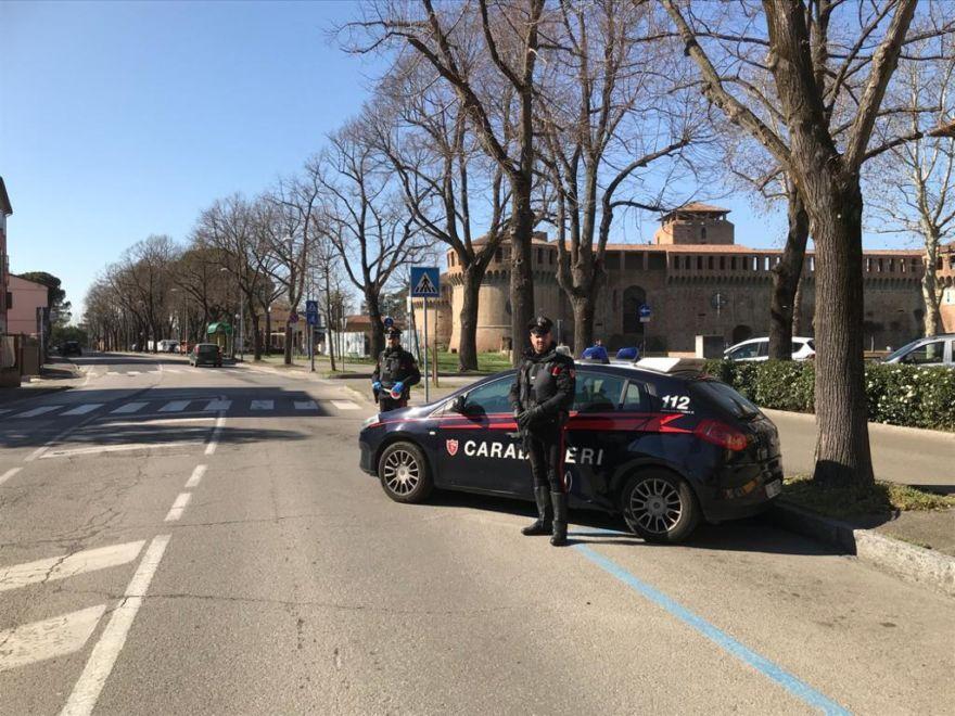 In giro senza un motivo, denunce dei carabinieri nell'Imolese