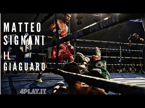 Boxe, Matteo Signani carico verso l'Europeo - VIDEO