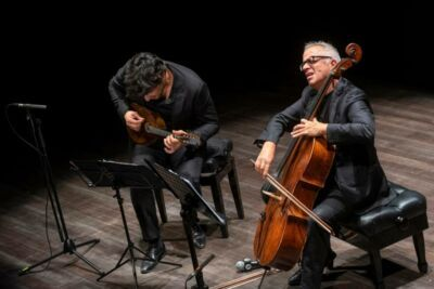 StRimining: on line dalle 18 il concerto di Giovanni Sollima e Avi Avital