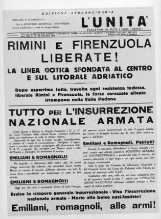 Liberazione: tutto il 25 aprile on line