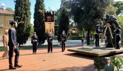 """Cesena: cerimonia della Liberazione """"ristretta"""" dal coronavirus"""