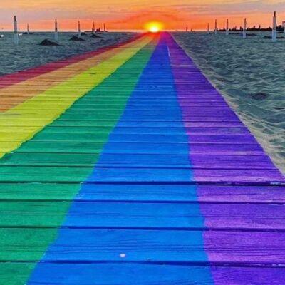 Lettera del Rimini summer pride: l'arcobaleno porta turisti