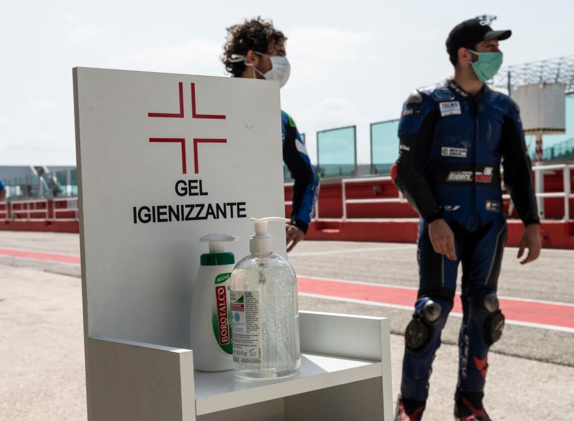 Riecco i piloti sulle curve del Misano World Circuit