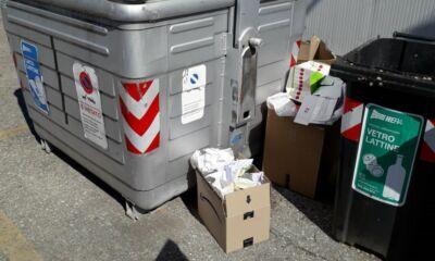 Bagnara: abbandonano rifiuti, individuati