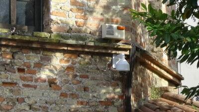 Ravenna, telecamere installate nelle millenarie mura del Battistero