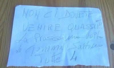 A Verghereto biglietto con minacce a fungaiolo del paese vicino