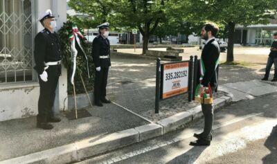 A Cesena corona d'alloro in memoria delle vittime del terrorismo