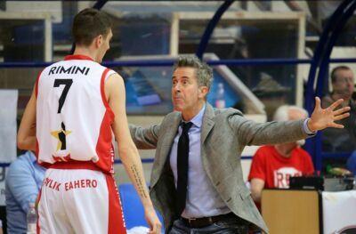 Rinascita Basket Rimini blinda coach Bernardi e Moffa per tre anni