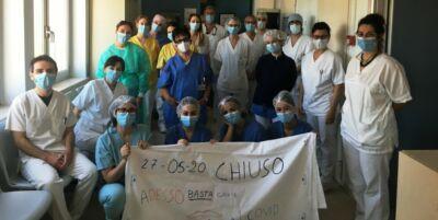 Coronavirus, a Cesena chiuso il reparto Covid di Medicina Interna