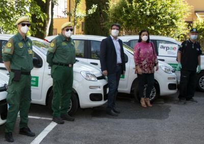Consegnate le prime 17 auto alle Gev dell'Emilia Romagna