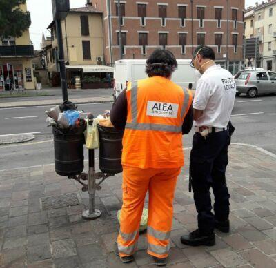 Forlì, ripartono i controlli contro l'abbandono di rifiuti
